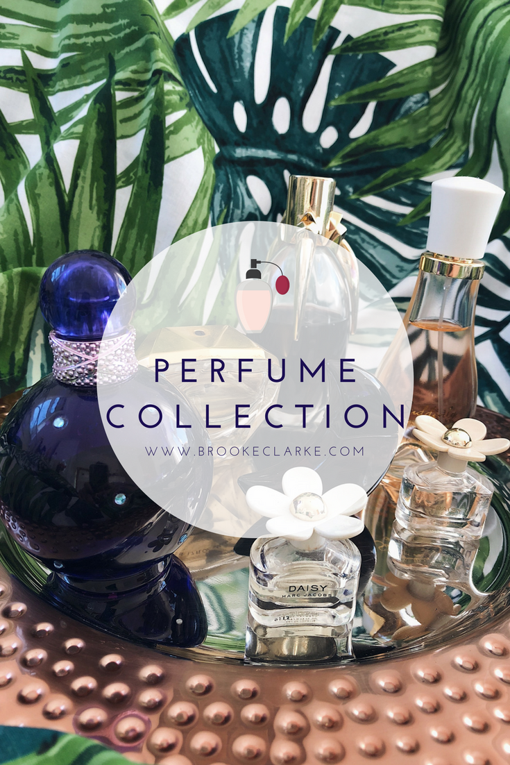 2018 Perfume & Body Mist Collection - Brooke Clarke Beauty & Lifestyle Blogger - www.brookeclarke.com